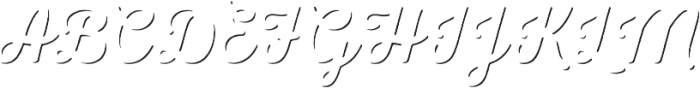 Nexa Rust Script L Shadow otf (400) Font UPPERCASE