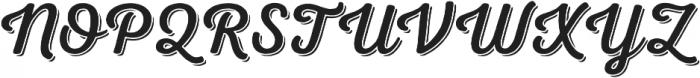 Nexa Rust Script R Shadow 00 otf (400) Font UPPERCASE