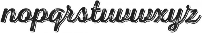 Nexa Rust Script R Shadow 02 otf (400) Font LOWERCASE