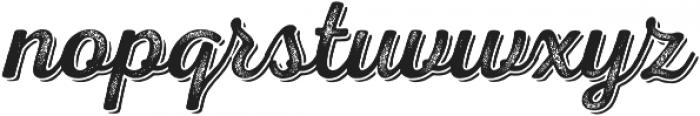 Nexa Rust Script R Shadow 03 otf (400) Font LOWERCASE
