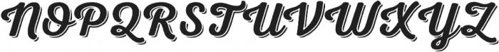 Nexa Rust Script S Shadow 00 otf (400) Font UPPERCASE