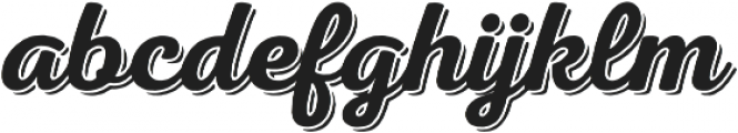 Nexa Rust Script S Shadow 00 otf (400) Font LOWERCASE