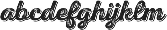 Nexa Rust Script S Shadow 02 otf (400) Font LOWERCASE