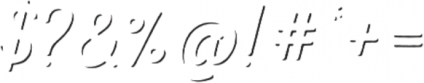 Nexa Rust Script T Shadow otf (400) Font OTHER CHARS