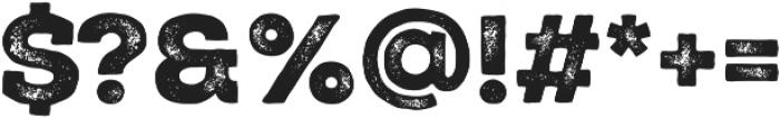Nexa Rust Slab Black 02 otf (900) Font OTHER CHARS