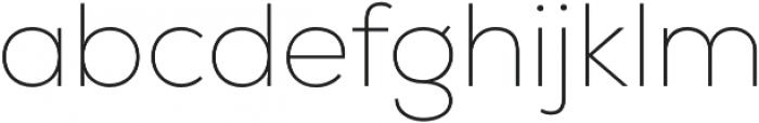 Nexa Thin otf (100) Font LOWERCASE