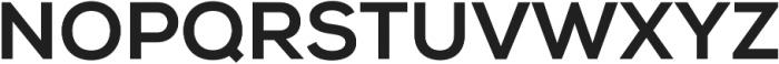Nexa XBold otf (700) Font UPPERCASE