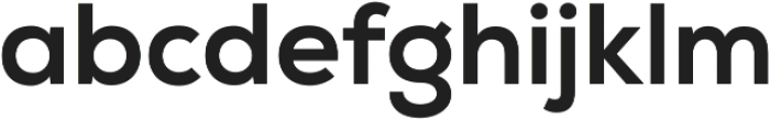 Nexa XBold ttf (700) Font LOWERCASE