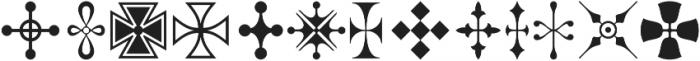 Nexodus Ornaments otf (400) Font UPPERCASE