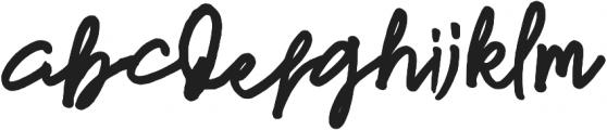 newfrench otf (400) Font LOWERCASE
