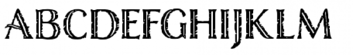 Nelson Engraved Font LOWERCASE