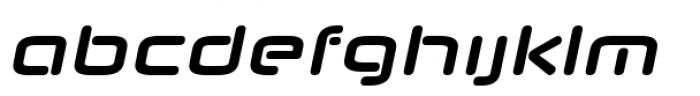 Neuropol Nova Bold italic Font LOWERCASE