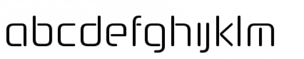 Neuropol Nova Condensed Light Font LOWERCASE