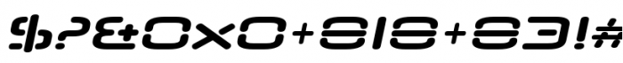 Neuropol Nova Extra Bold Italic Font OTHER CHARS