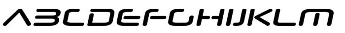 Neuropol Nova Extra Bold Italic Font UPPERCASE