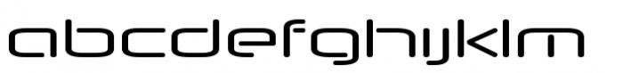 Neuropol Nova Extra Regular Font LOWERCASE