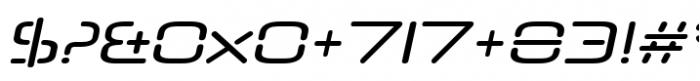 Neuropol Nova Regular Italic Font OTHER CHARS