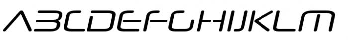 Neuropol Nova Regular Italic Font UPPERCASE