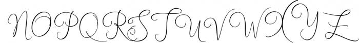 NEW England Script 2 Font UPPERCASE