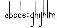 NEW YEAR BUNDEL 1 Font LOWERCASE