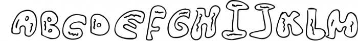 NEW YEAR BUNDEL 3 Font UPPERCASE