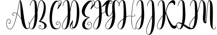 NEW YEAR BUNDEL Font UPPERCASE