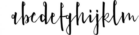 Nefalin Yummy Script Font Font LOWERCASE