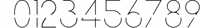 Neuron Spatial Typeface 6 Weights 1 Font OTHER CHARS