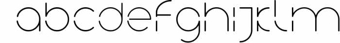 Neuron Spatial Typeface 6 Weights 4 Font LOWERCASE