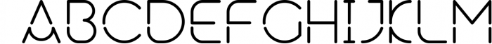 Neuron Spatial Typeface 6 Weights Font UPPERCASE
