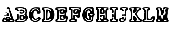 NEO PROTEIN Font UPPERCASE