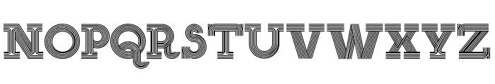 NEON SERIF Font UPPERCASE