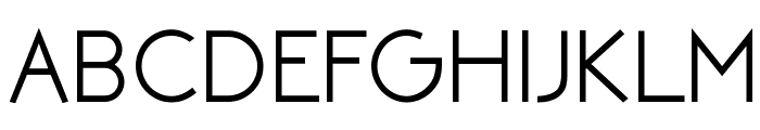 NEOTERIC Bold Font UPPERCASE