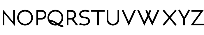 NEOTERIC Bold Font LOWERCASE