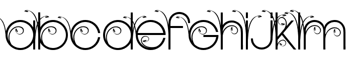 NEW GARDEN TWO PERSONAL USE Regular Font UPPERCASE