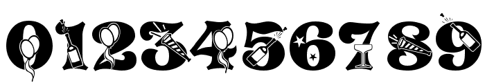 NEWYEARS Font OTHER CHARS