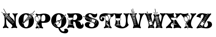NEWYEARS Font UPPERCASE