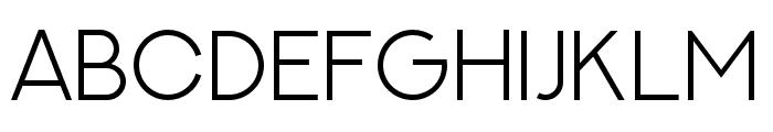 NEXTART-Light Font LOWERCASE