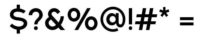 NEXTART-SemiBold Font OTHER CHARS