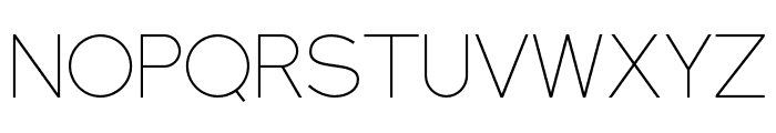 NEXTART-Thin Font UPPERCASE