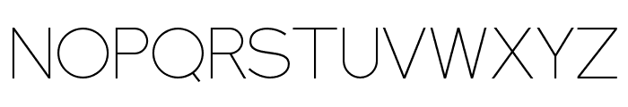 NEXTART-Thin Font LOWERCASE