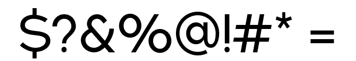 NEXTART Font OTHER CHARS
