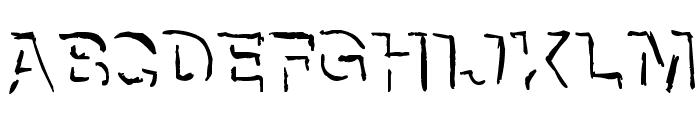 NeNe_WeNo Shadow HandWrite Font UPPERCASE