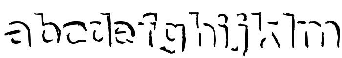 NeNe_WeNo Shadow HandWrite Font LOWERCASE