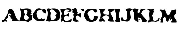 NeatifiedRegular Font UPPERCASE