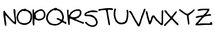 Neatnpretty Font UPPERCASE