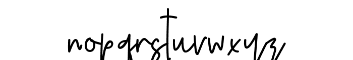 Nebbulla Font LOWERCASE