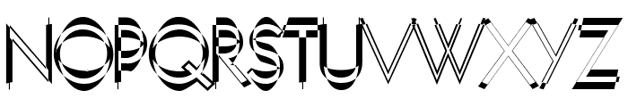 Neboman Font UPPERCASE