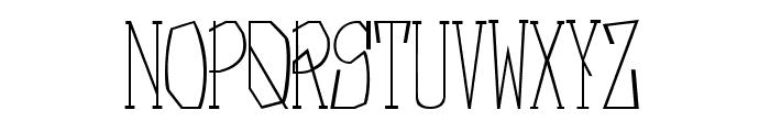 Nebula Regular Font UPPERCASE
