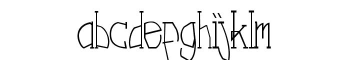 Nebula Regular Font LOWERCASE